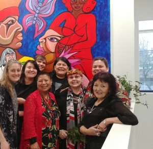 New Mural at CGSHE's Hastings Community Office by Celebrated Artist Haisla Collins